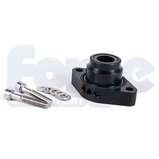 FORGE Blow Off dump Valve Spacer Kit Adattatore VW/Audi 1.4 TSI twincharged Nero