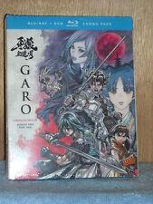 Garo: Crimson Moon - Season Two - Part Two (Blu-ray/DVD, 2017, 4-Disc Set)