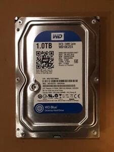 WD Blue 1TB WD10EZEX  64M  7200 rpm   8,9cm 3,5 Zoll SATA/600 Festplatte HDD