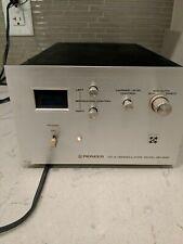 VINTAGE PIONEER CD-4 DEMODULATOR MODEL QD-240 Powers