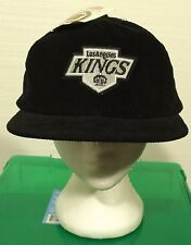 vintage 90'S LOS ANGELES KINGS corduroy snapback hat NEW WITH TAGS rap NWA tupac