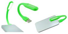 Lampe Universelle Flexible USB pour PC / MAC / Ordinateur / Tablette ... (Vert)
