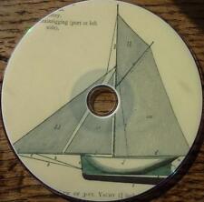 3 Vintage books HOW TO MAKE MODEL SAILING BOAT rig sail mast hull ship 1880 DVD