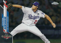 Clayton Kershaw 2020 Topps Chrome Update All-Star Game #U-74 Los Angeles Dodgers