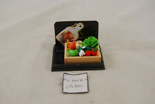 Vegetables in Wooden Box - 1.815/5 miniature dollhouse 1/12 scale Reutter
