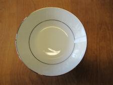 "Noritake RANIER 6909 Fruit Bowl 5 1/2""  Floral Platinum  1 ea   1 available"