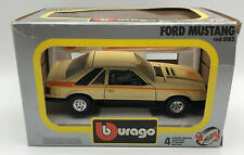 Burago 0182 1:24  Ford Mustang  WITH BOX