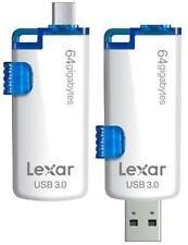 Cartes mémoire Lexar pour téléphone mobile et assistant personnel (PDA), 64 Go