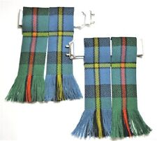 KILT FLASHES TARTAN MACLEOD OF HARRIS ANCIENT HUNTING HOSE SOCK MADE IN SCOTLAND