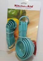 KITCHENAID AQUA SKY 9 PC MEASURING CUPS AND SPOONS SET