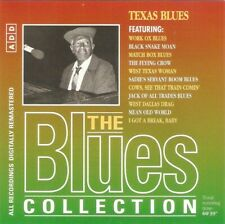 Various - Texas Blues (CD 1996) Remastered; Blues Collection 78