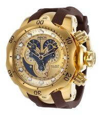 Invicta 14464 Reserve Venom Chronograph Master Calendar Gold Dial Men's Watch
