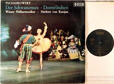 DECCA Tchaikovsky KARAJAN Swan Lake & Sleeping Beauty Ballet GERMANY SXL-6187