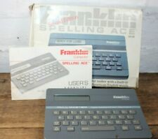 Vintage Franklin Spellmaster Second Edition 1990 QE-103 Boxed Manuel Working