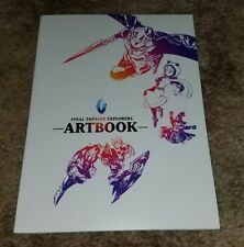 Final Fantasy Explorers Mini Softcover Artbook