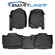 Smartliner Custom Fit Floor Mat Set For 2007-2013 Chevrolet Avalanche (Fits: Chevrolet)