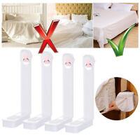 4Pcs/Set Bed Sheet Clip Fastener Mattress Non-slip Holders Gripper Home Supplies