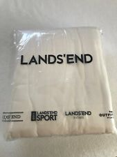 lands end flannel sheet set queen size
