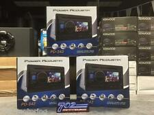 "POWER ACOUSTIK DOUBLE DIN PD-342 CD/DVD/MP3 PLAYER 3.4"" LCD USB AUX 300 WATTS"