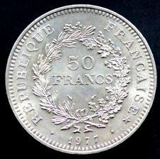 50 FRANCS 1977 FRANCE - Hercule - argent / silver (05)