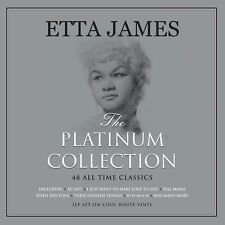 Etta James PLATINUM COLLECTION Best Of 48 Songs ESSENTIAL New Colored Vinyl 3 LP