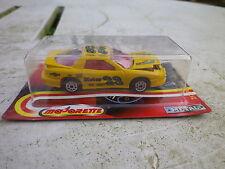 MAJORETTE 212 PONTIAC FIREBIRD racing jaune 1/59 état Neuf blister scellée