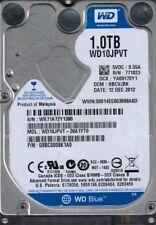 WD10JPVT-26A1YT0 DCM: HBCVJBK WX71A Western Digital 1TB