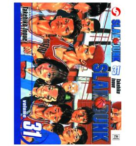 SLAM DUNK Takehiko Inoue Manga Volume 1-31 English Comic Full Set
