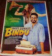 MERI PYAARI BINDU (2017) BOLLYWOOD POSTER # 1 PARINEETI CHOPRA AYUSHMANN