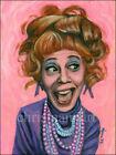 Mann Art IMOGENE COCA as AUNT JENNY Original Acrylic Painting The Brady Bunch