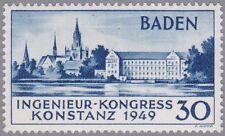 Baden Konstanz Mi.Nr. 46 II postfrisch mit Fotobefund