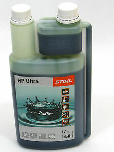 (EUR 28,99/L) STIHL 1000ml Zweitaktmotoröl Stihl HP Ultra 0781 319 8061