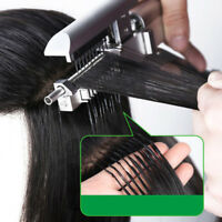 6D 100% Real Remy Human Hair Extensions #1B Black Color 10 Strands Tiny Tip Hair