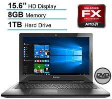 "Lenovo Z50-75 Laptop AMD FX-7500 Radeon R7 8GB RAM 1TB HDD 15.6"" HD WIN 10"