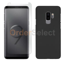 Case Hard Plastic Protective+LCD HD Screen Protector for Samsung Galaxy S9+ Plus