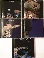 """GERARD MANSET  -  5 CDS """"ENTREZ DANS LE RÊVE"""" SANS LE COFFRET"""