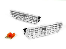 99 00 01 02 03 04 VW GOLF & GTi & JETTA MK.4 CRYSTAL CLEAR SIDE MARKER LIGHTS