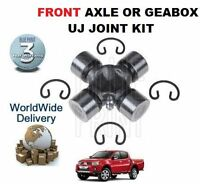 FOR MITSUBISHI L200 2.5 DiD 2006-> FRONT AXLE / GEARBOX UJ UNIVERSAL JOINT KIT
