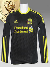 Fc Liverpool Jersey 3rd LS Adidas Player Issue Techfit Shirt maillot camiseta L