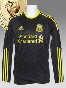 New adidas LIVERPOOL Football Club 2010 2011 Player Issue 3rd Shirt TechFit   XL