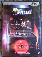 Mars Invader PC Marcianitos acción aventura clásica Foto real en castellano.