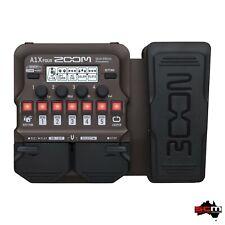 Zoom A1x Four Effects Unit for Acoustic Instruments KEEPDRUM Jack Cable 3m
