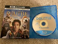 Dolittle (Blu-ray Disc ONLY, 2020) + SLIPCOVER/BLANK CASE! NEVER VIEWED SEE INFO