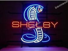 New FOOD COBRA SHELBY MUSTANG NEON SIGN BAR GARAGE LIGHT HANDCRAFTED  MAN CAVE