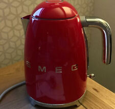 Red Smeg Electric Kettle