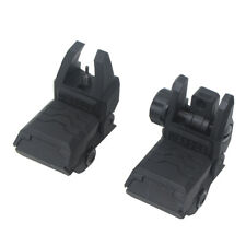 Tactical QD Flip Up Front Rear Sight Adjustable Black PA for Nerf Modify Toy