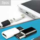 3*Type-C USB Male Connector to Micro USB Female Converter USB-C Adapter