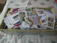 World stamps - KILOWARE - modern sorting lot - ON paper - 1 kg