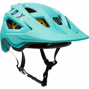 New Fox Racing Speedframe MIPS Mountain Bike Helmet Teal Adult Size Medium