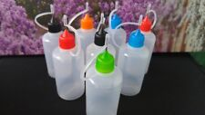 Nadelflaschen 50 ml 9 Stck. Liquidflasche needle Bottle Kunststoff Leerflasche